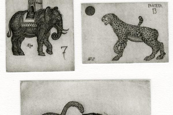 Incidere, disegnare, incidere con Adriano Pompa
